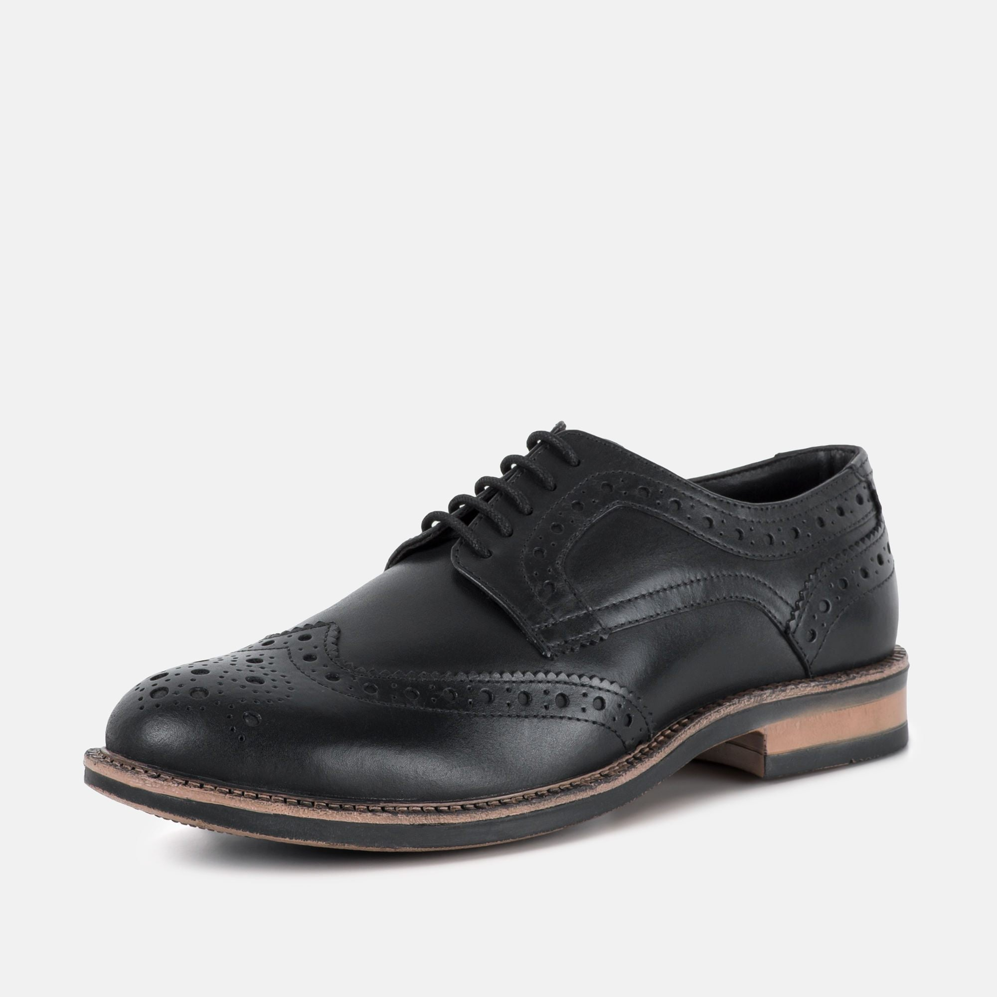 Redfoot Footwear UK 6 / EURO 39 / US 7 / Black / Leather JOHNSON BLACK