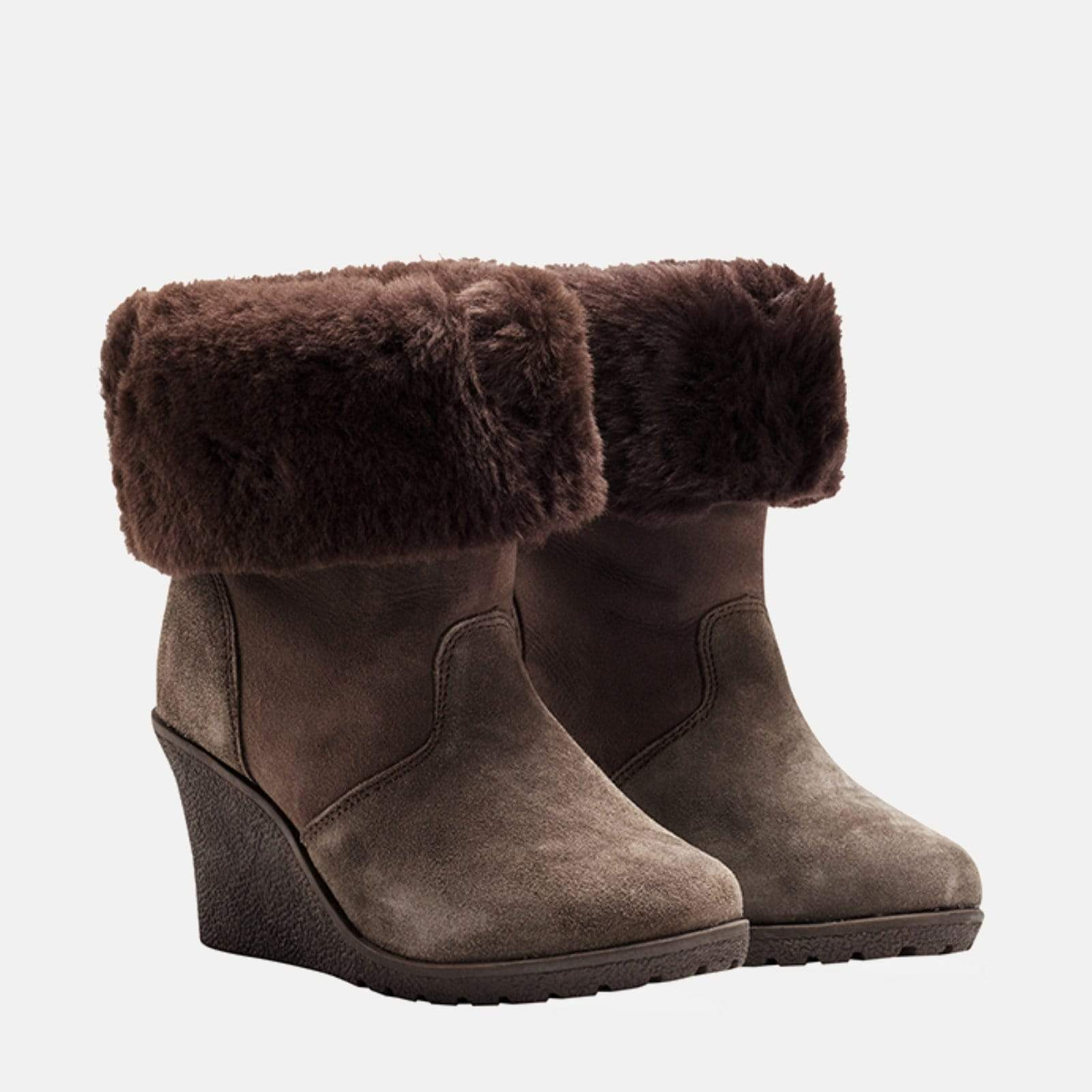 Redfoot Footwear LENNOX BROWN - AUSTRALIAN SHEEPSKIN