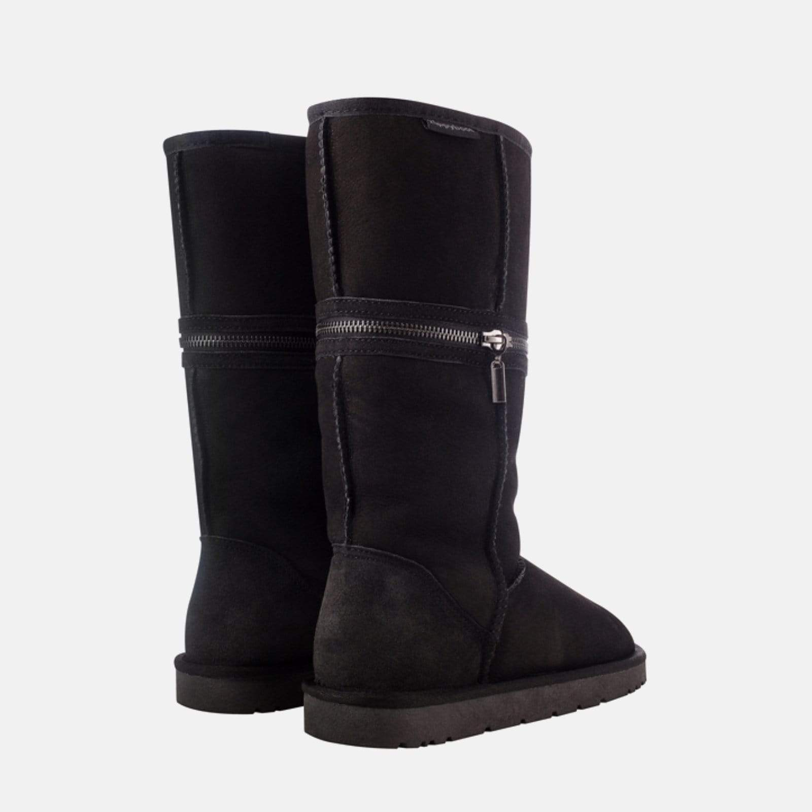 Redfoot Footwear LUCY BLACK - Australian Sheepskin
