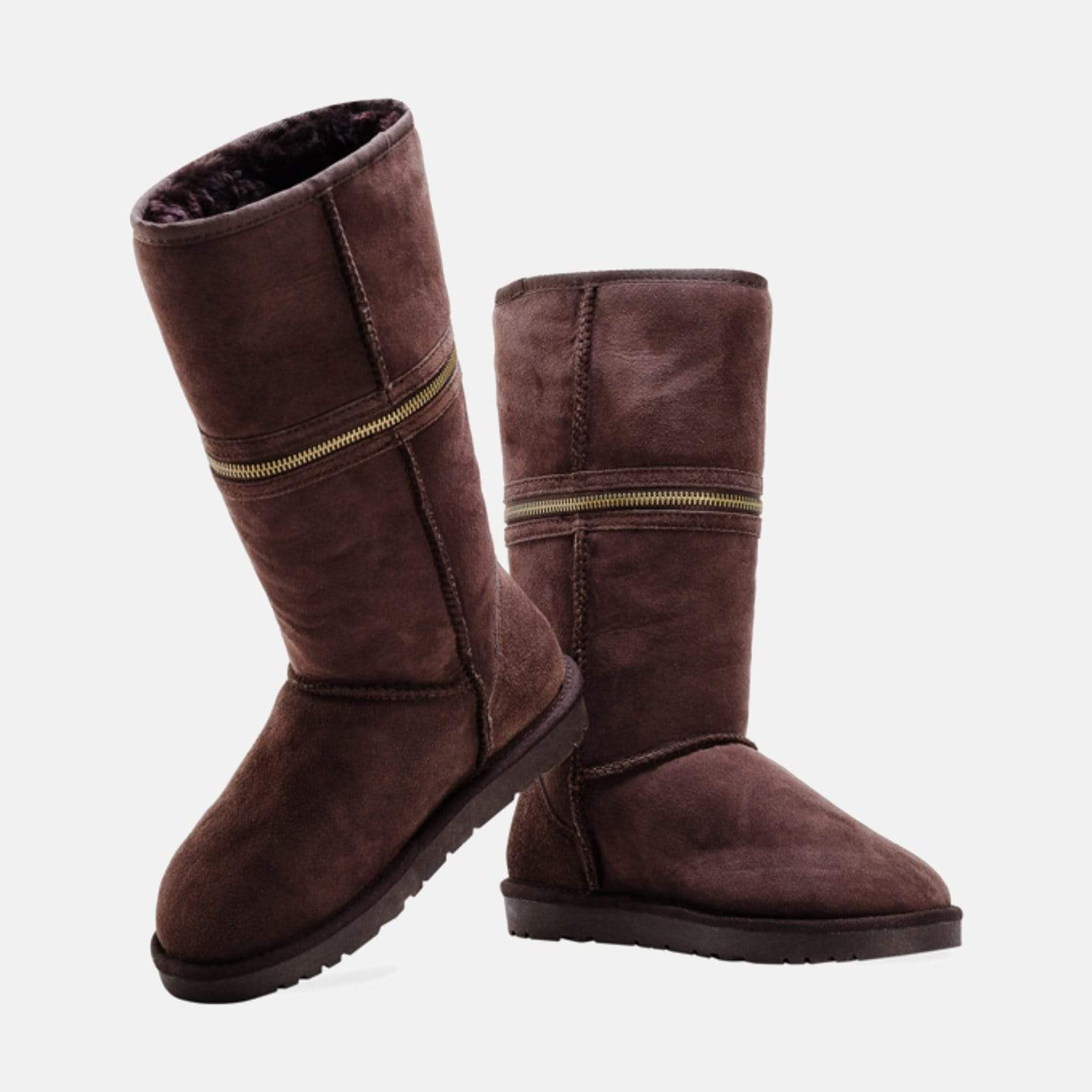 Redfoot Footwear LUCY CHOCOLATE - Australian Sheepskin