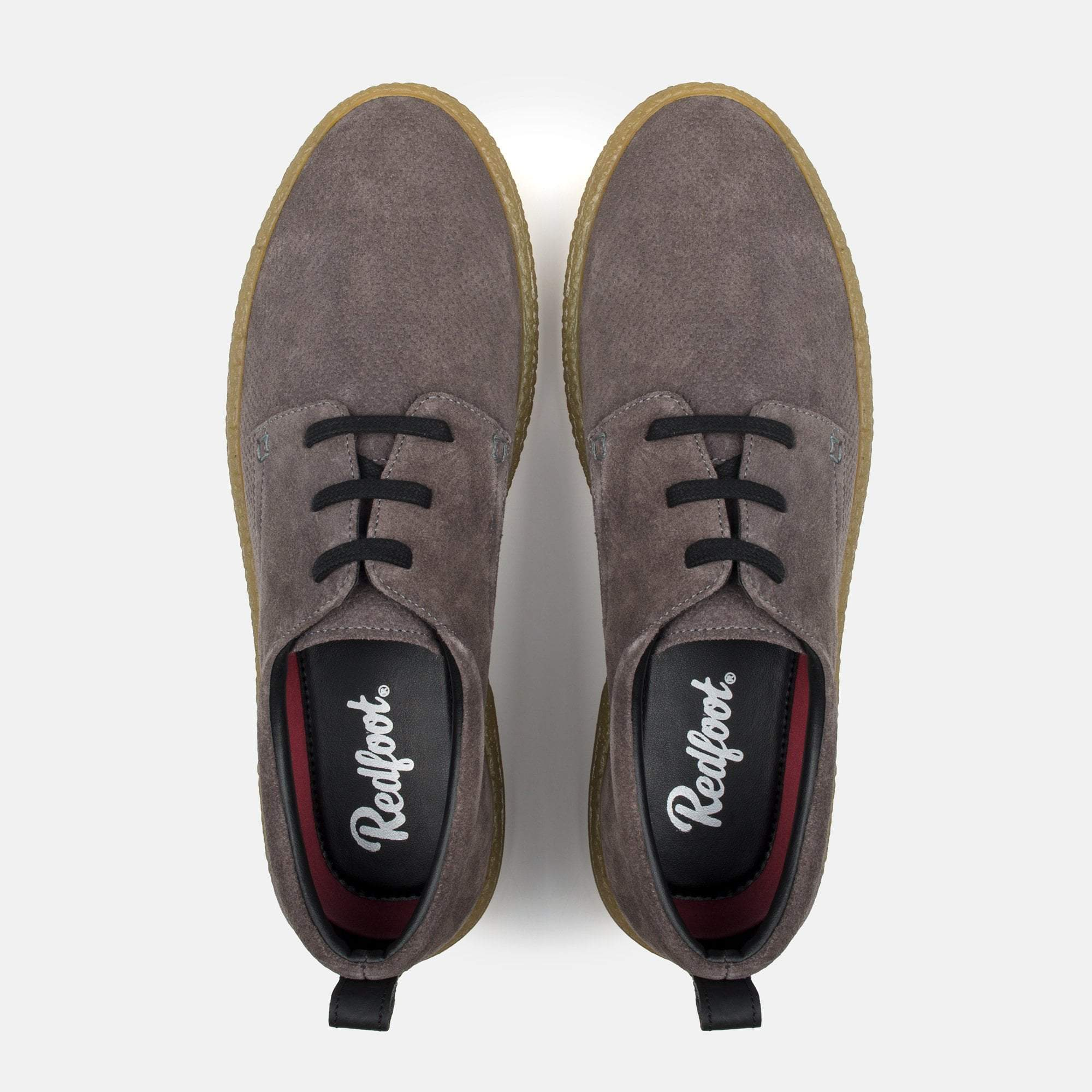 Redfoot Footwear UK 6 / EURO 39 / US 7 / Chestnut / Suede MARTIN STONE
