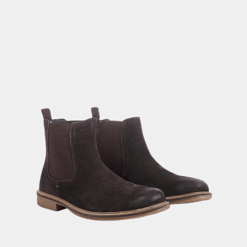 MENS BROWN CLOUGH CHELSEA BOOT BROWN