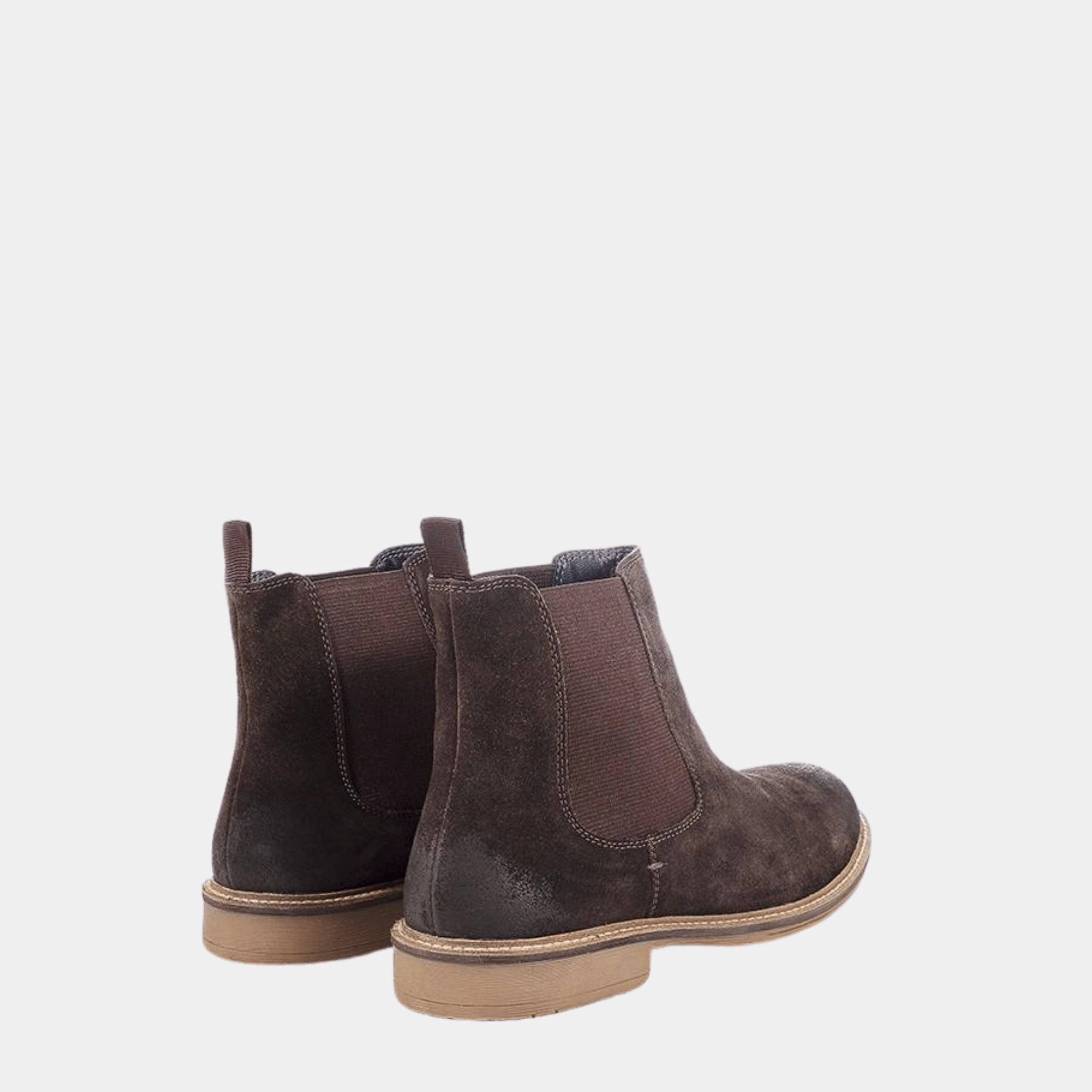 Redfoot Footwear MENS BROWN CLOUGH CHELSEA BOOT BROWN