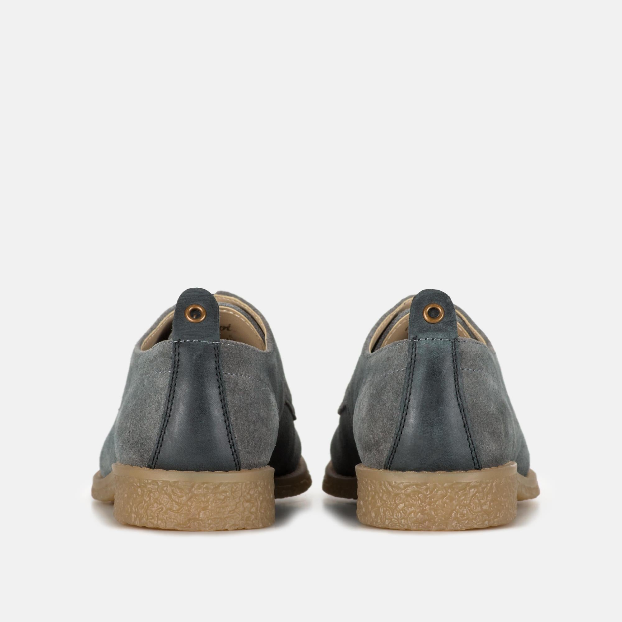 MIA LIGHT GREY SUEDE LEATHER DESERT SHOE
