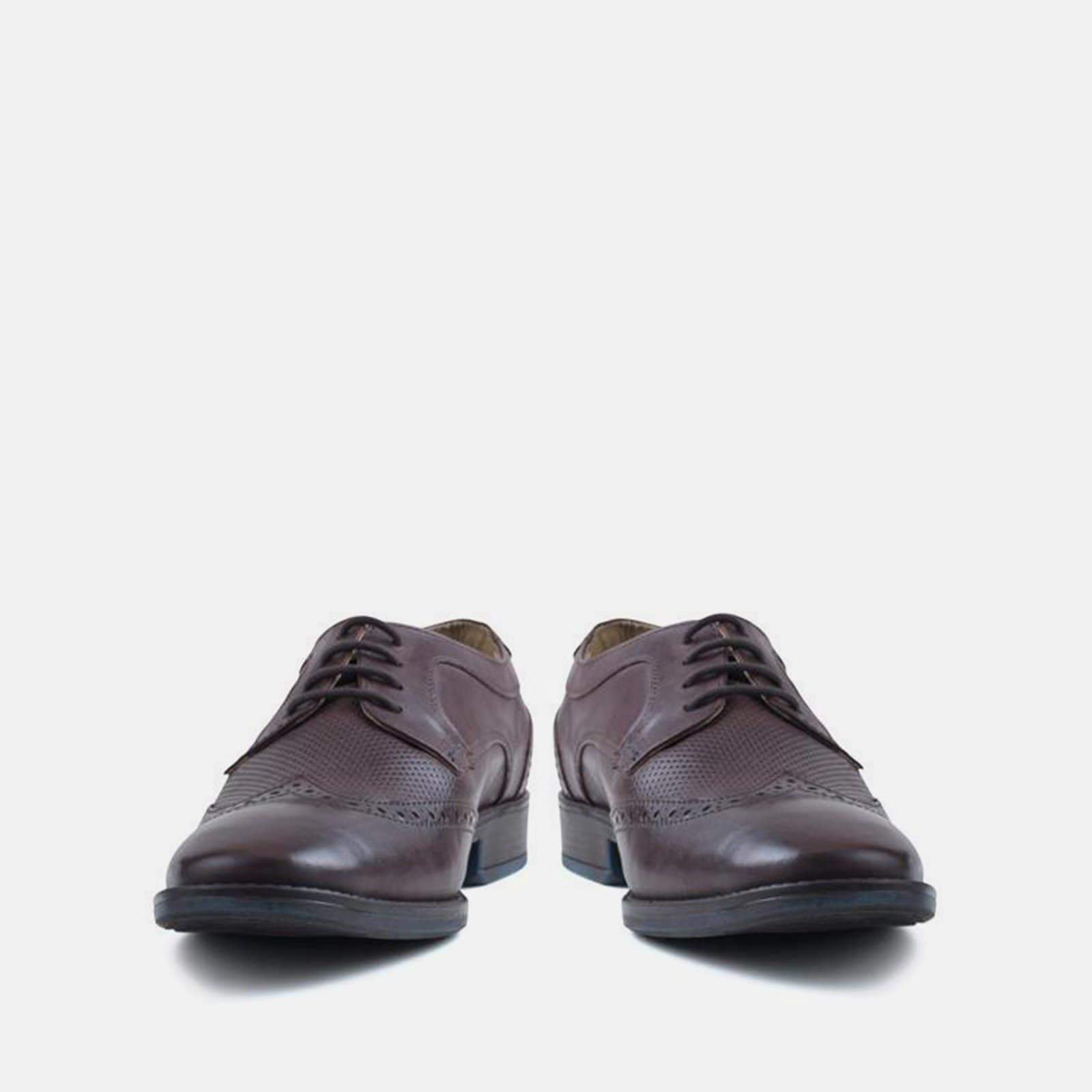 REGOLA BROWN LEATHER BROGUE