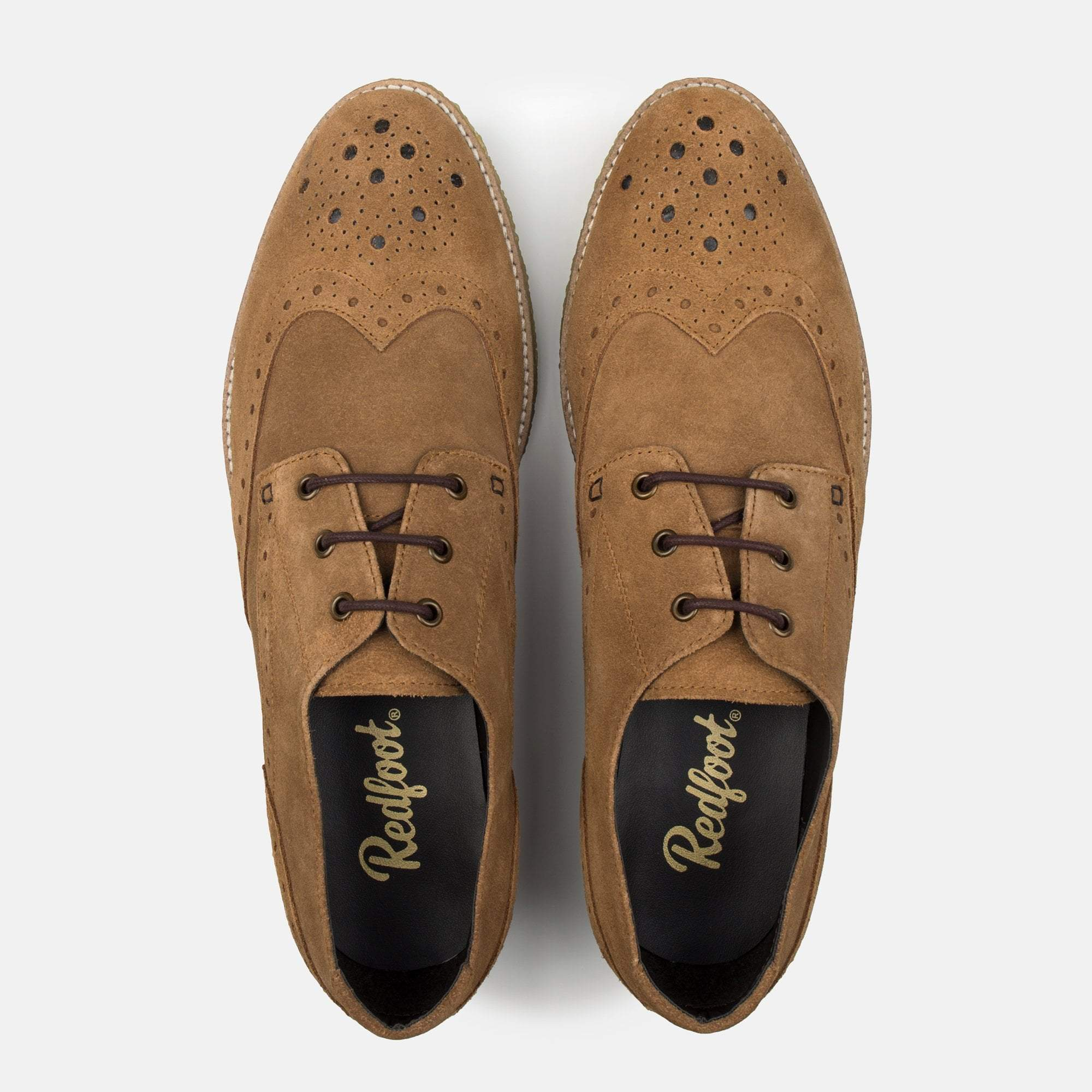 Redfoot Footwear UK 6 / EURO 39 / US 7 / Navy / Suede ROBINSON CHESTNUT