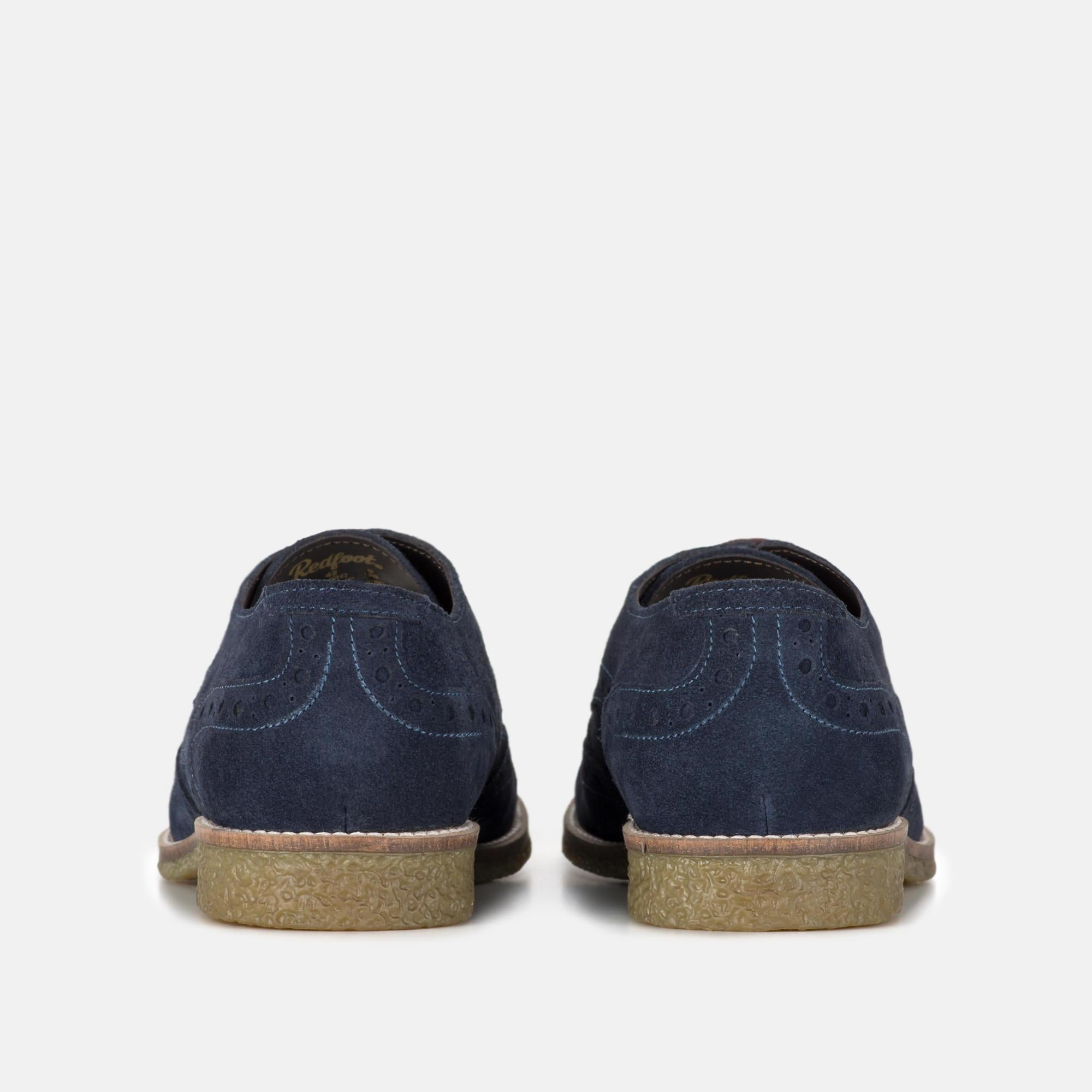 Redfoot Footwear UK 6 / EURO 39 / US 7 / Navy / Suede ROBINSON NAVY