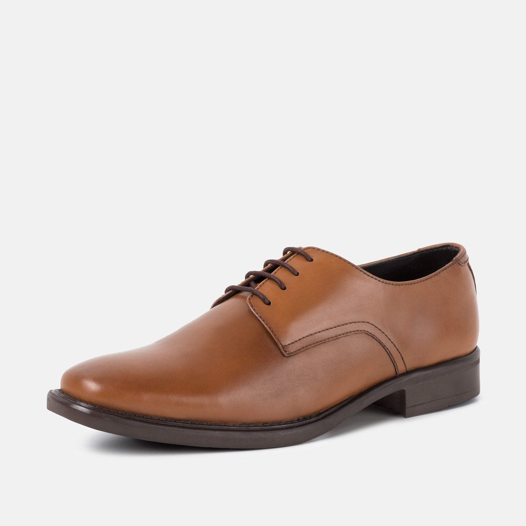 TAYLOR TAN LEATHER DERBY SHOE