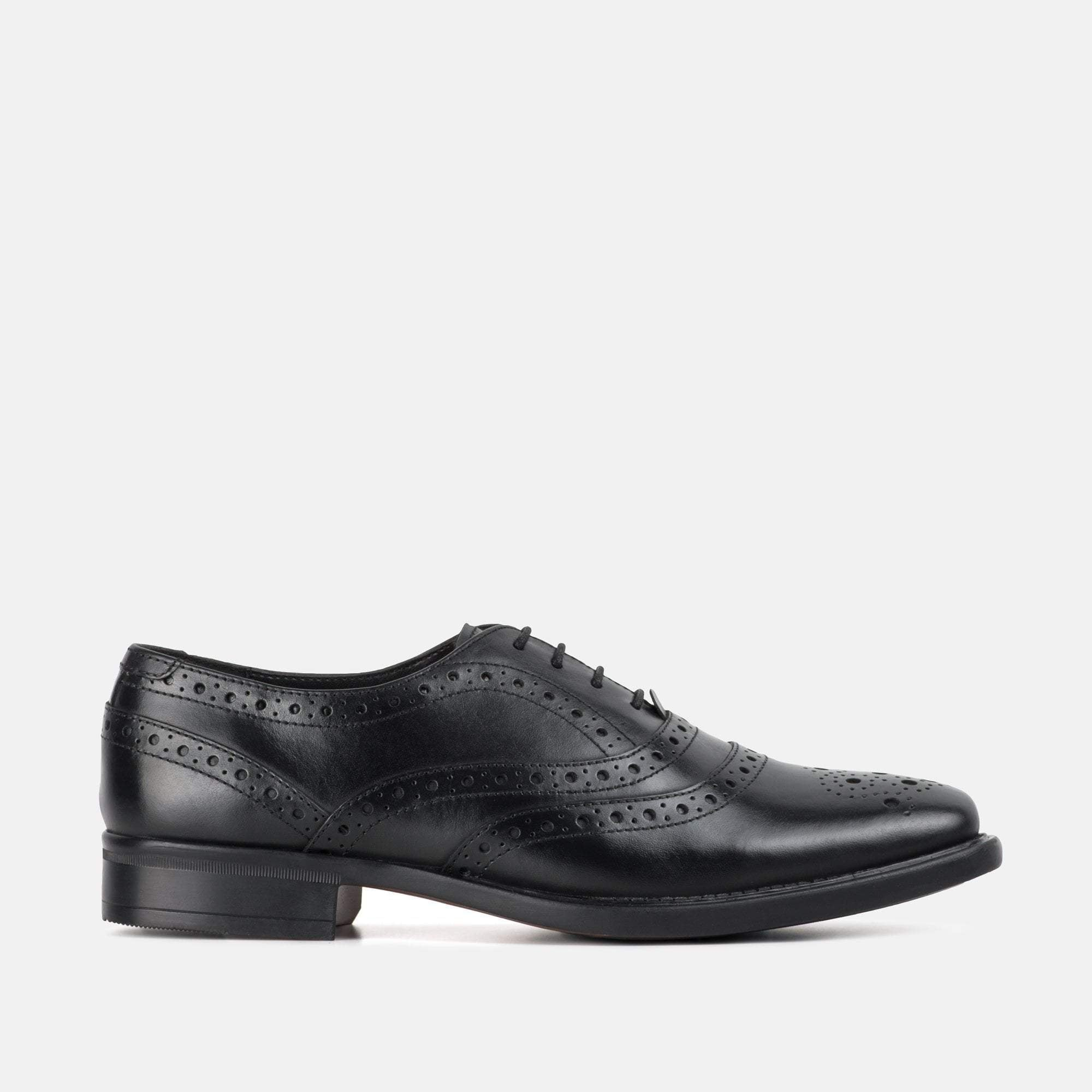 Redfoot Footwear UK 6 / EURO 39 / US 7 / Black / Leather WILLIAM BLACK