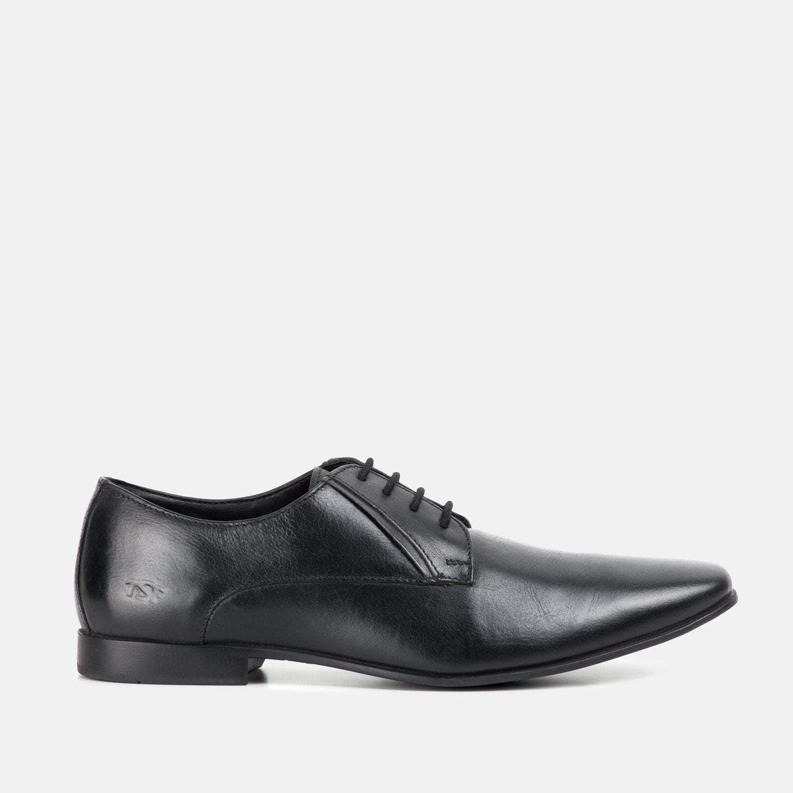 BOND BLACK LEATHER DERBY SHOE