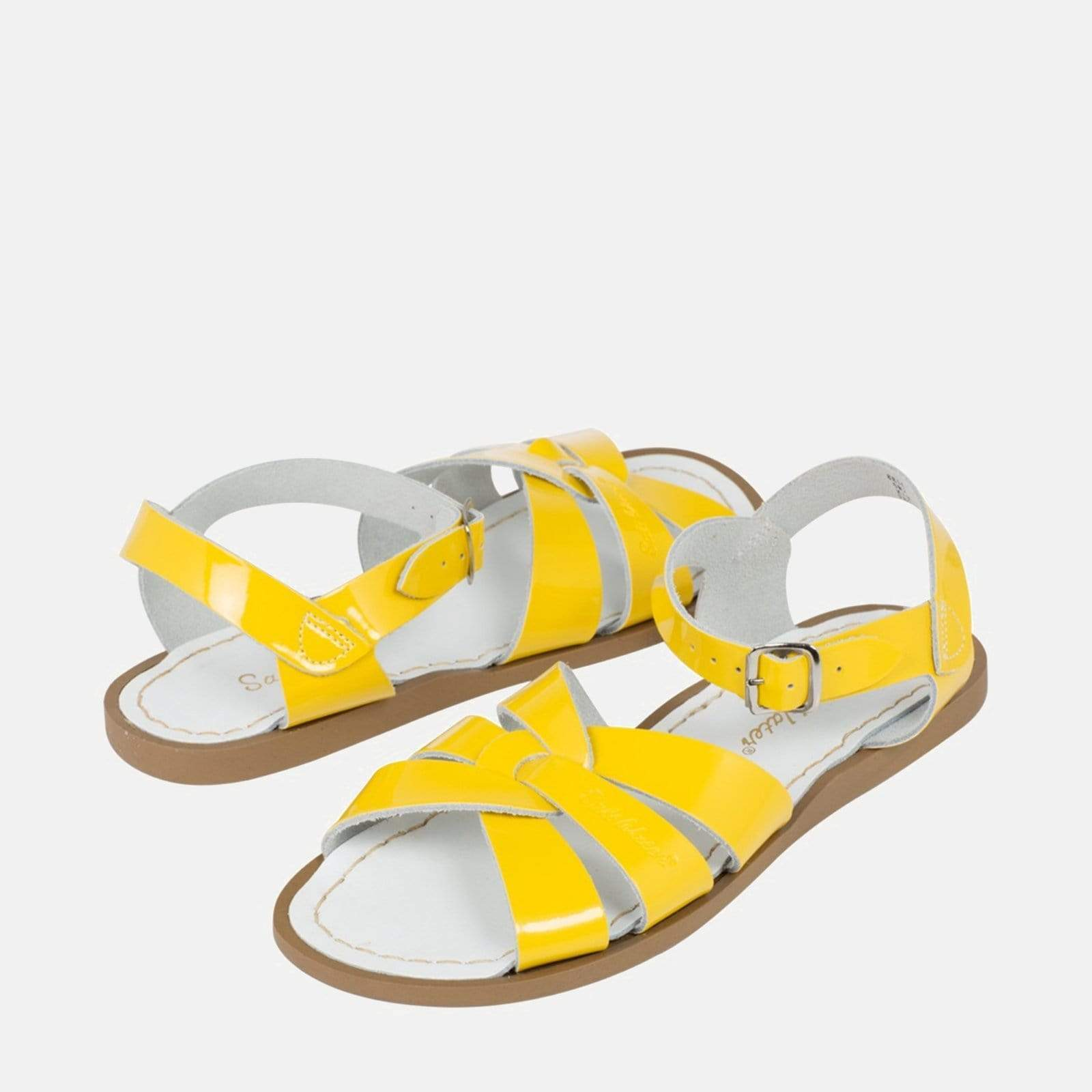 Salt-Water Footwear Salt-Water Original Shiny Yellow
