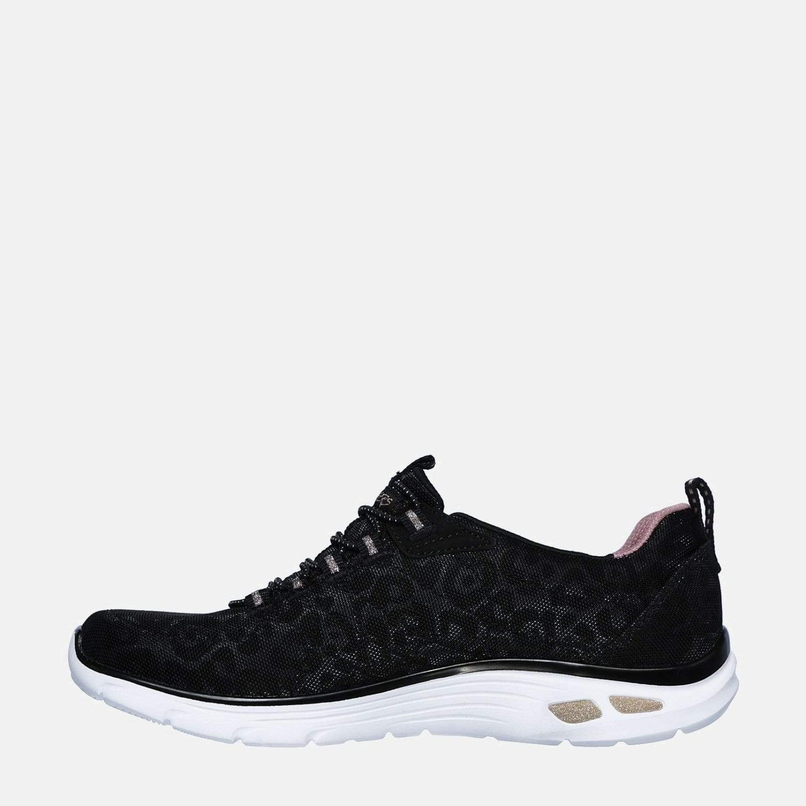 Skechers Footwear Empire D'Lux Spotted 12825 Black Rose Gold