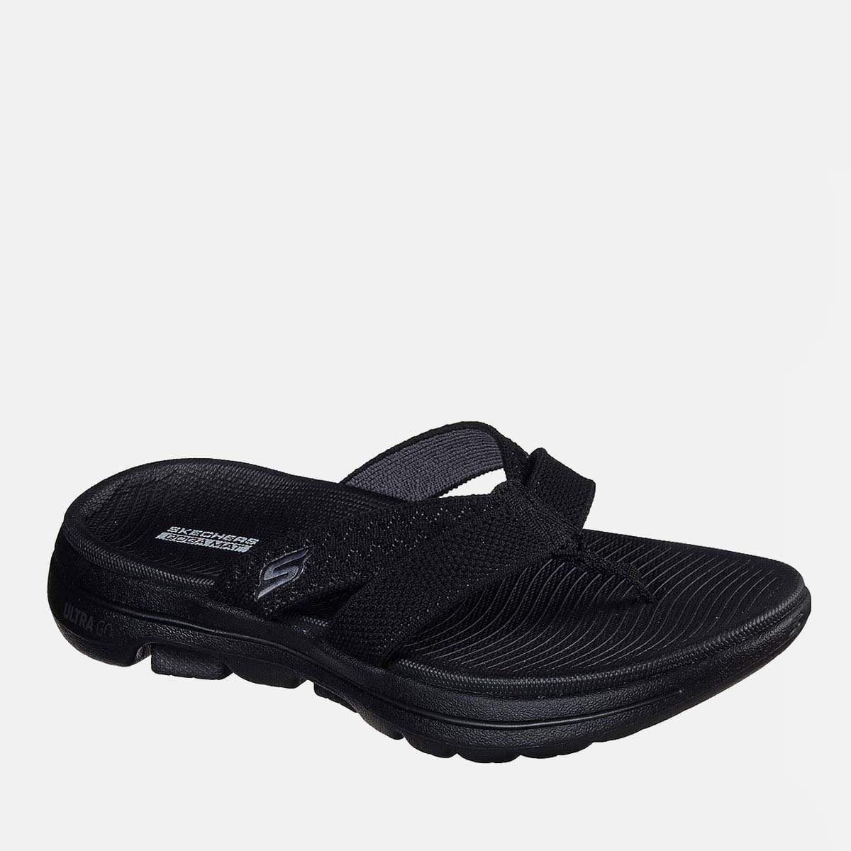 Skechers Footwear Go Walk 5 Sun Kiss 140085 Black Grey