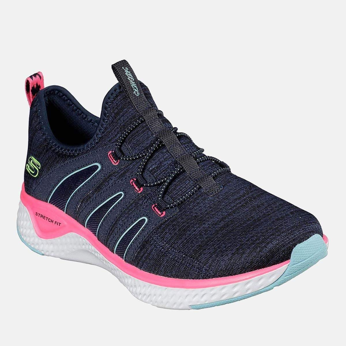 Skechers Footwear Solar Fuse Electric Pulse 13326 Navy Hot Pink