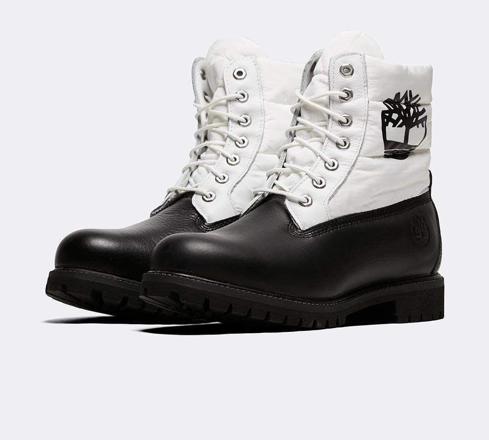 Timberland Footwear 6 Inch Premium Puffer Boot CA2BY4 Black Nubuck