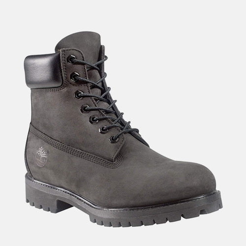 "6"" Premium Boot C10073 Black Nubuck"