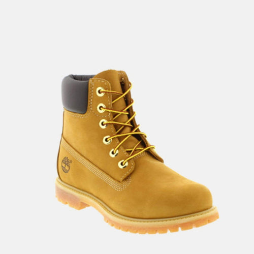 "6"" Premium Boot Women's C10361 Wheat Nubuck"