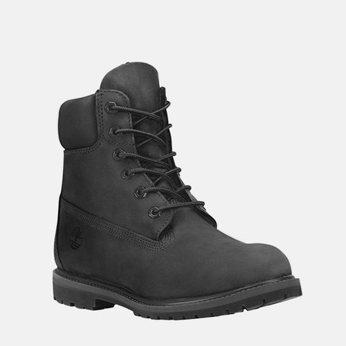 6in Premium Boot Women's C8658A Black Nubuck
