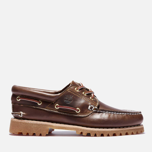 Authentics 3 Eye Classic Mid Brown Full Grain