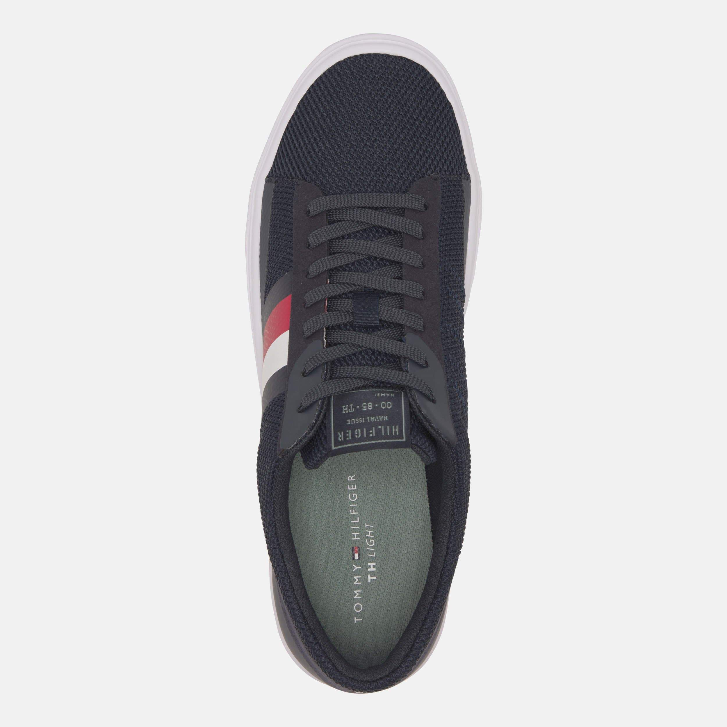 Tommy Hilfiger Footwear Lightweight Stripes Knit Sneaker Desert Sky