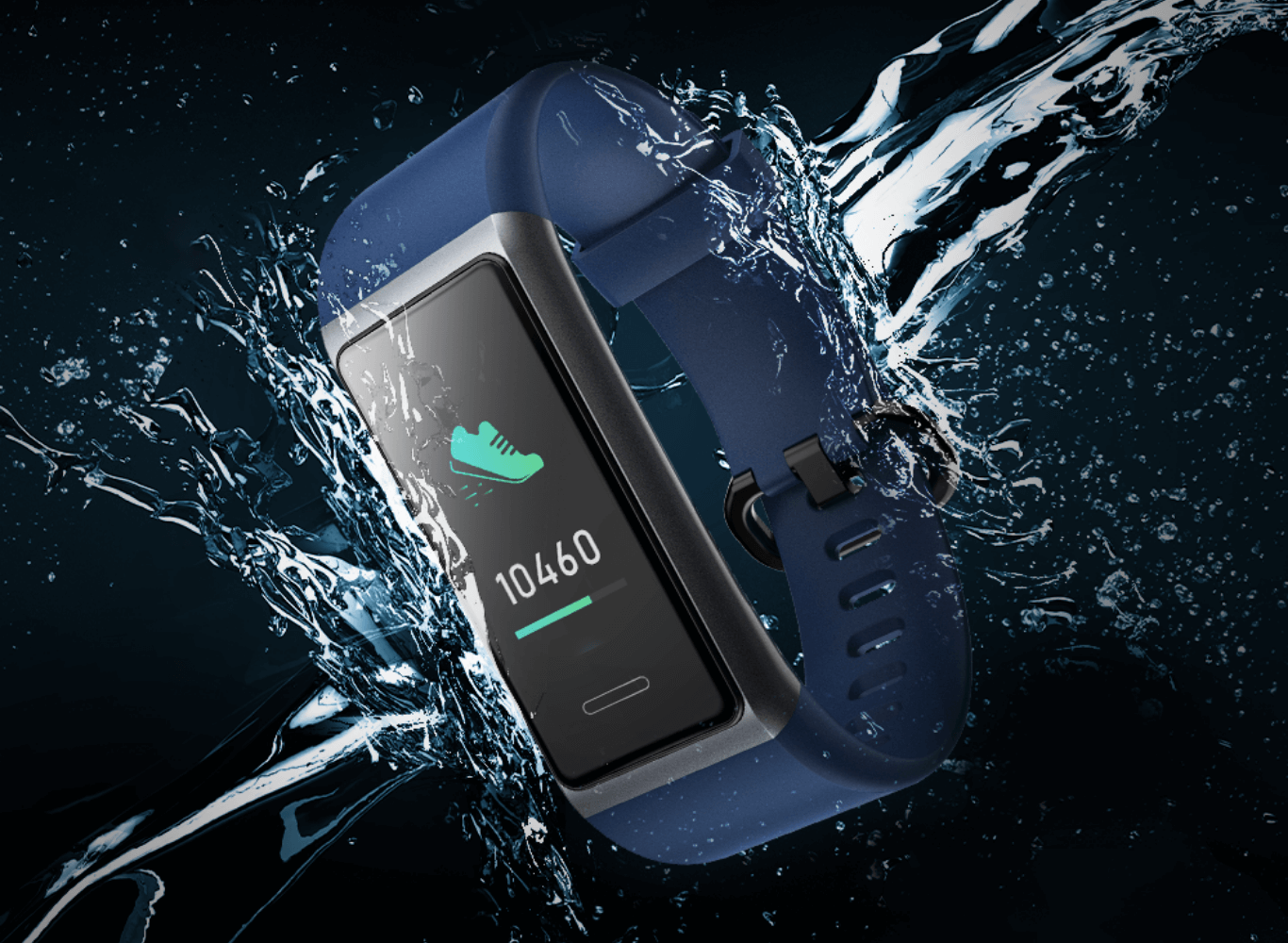 Dust and Waterproof Smart Band