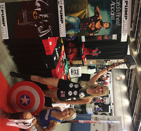 Pumpous Girls - Montreal Comiccon 2016 - Friday