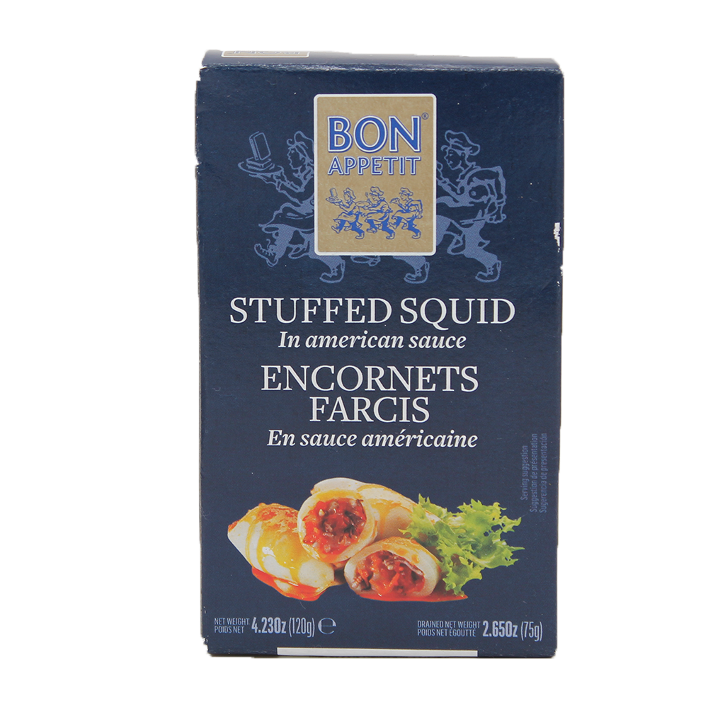 Bon Appetit Stuffed Squid  120grs