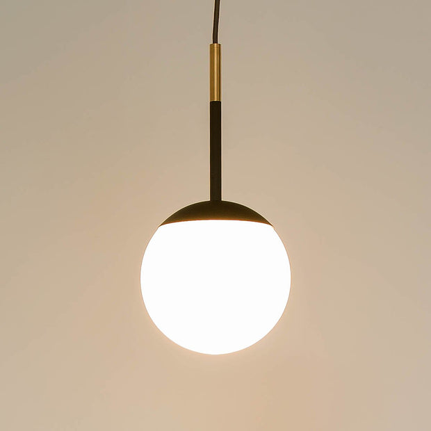 Glass globe Pendant light 1