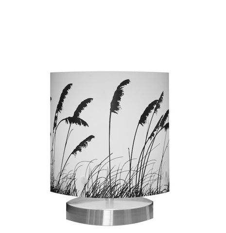 Small Toi Toi Table Lamp, Black Silhouette