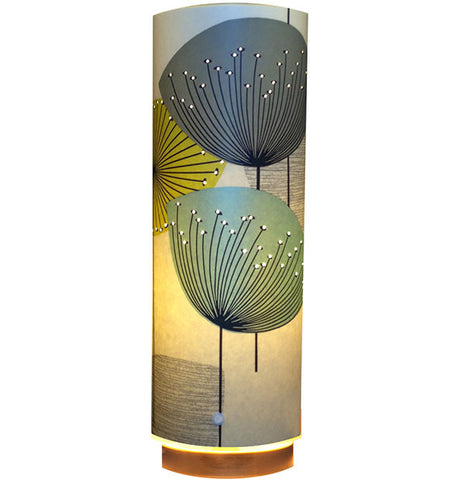 Dandelion Clocks Designer Wallpaper Lamp, Chaffinch Colour Way - Zamm Lights