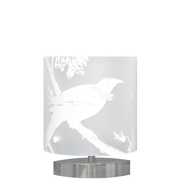 Small Tui Table Lamp, White Silhouette - Zamm Lights