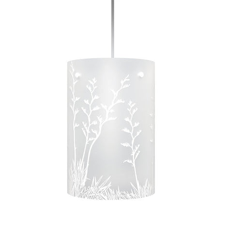 Harakeke, NZ Flax Shades, White Silhouette - Zamm Lights