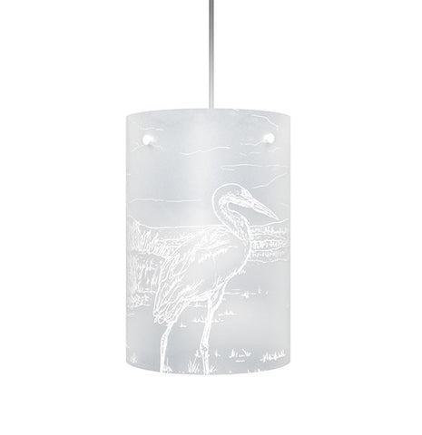 Kōtuku, White Heron Shades, White Silhouette - Zamm Lights