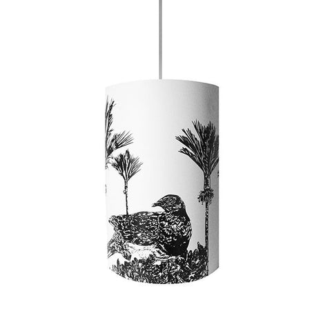 Kererū, Wood Pigeon Shades, Black Silhouette - Zamm Lights