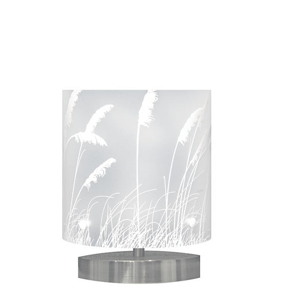 Small Toi Toi Table Lamp, White Silhouette - Zamm Lights