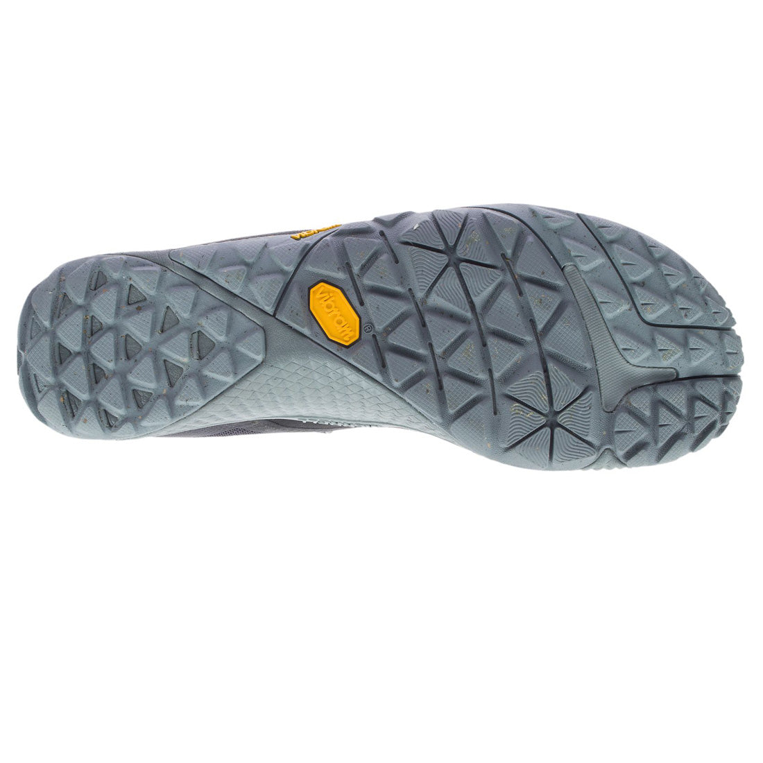 Trail Glove 6 de Merrell color black. Vista general suela Vibram