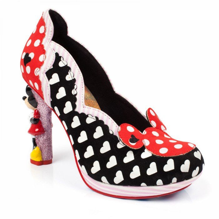 Mickey & Minnie Mouse Heel