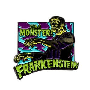 It's a Monster! Frankenstein Enamel Pin
