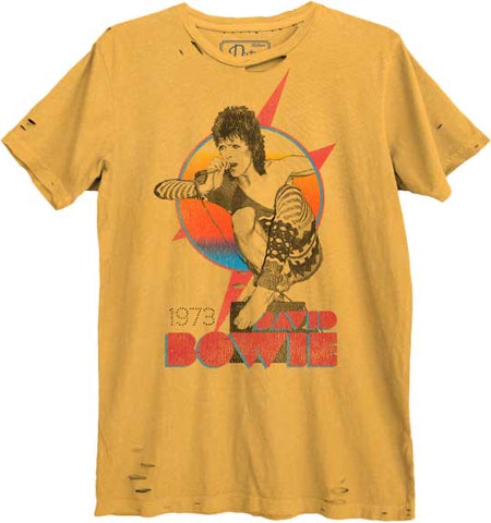 Bowie '73 Singing Graphic Unisex Tee