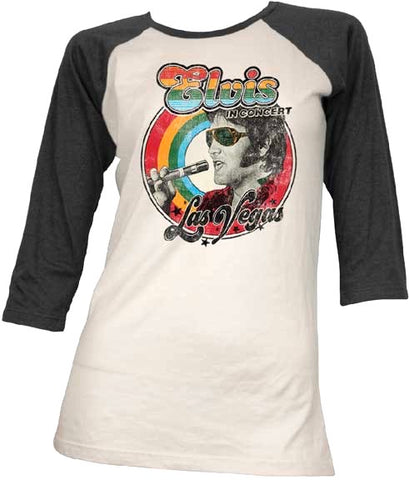 In Concert Las Vegas 3/4 Sleeves Women's Raglan