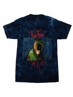 Pink Floyd The Wall Tie Dye Men's Tee