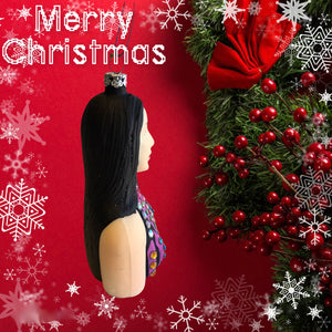 Cher Glass Ornament