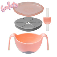 *NEW* Bowl + straw - tutti frutti - b.box for kids