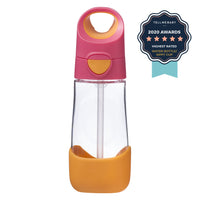 tritan™ drink bottle 450ml - strawberry shake - b.box for kids