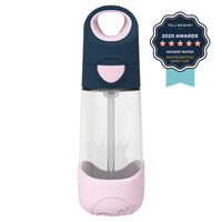 tritan™ drink bottle - indigo rose - b.box for kids