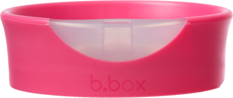 training cup lid - raspberry - b.box for kids