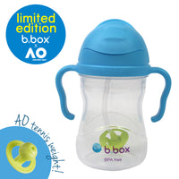 b.box x Australian Open Sippy Cup - blue