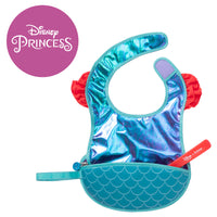 Disney - Ariel travel bib + flexible spoon (selected regions only) - b.box for kids
