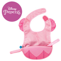 Disney - Aurora travel bib + flexible spoon (selected regions only)
