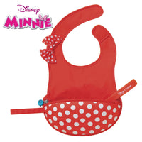Disney - Minnie Mouse travel bib + flexible spoon (selected regions only)